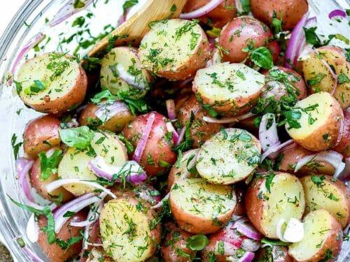 Best Potato Salad Recipe Red Onion