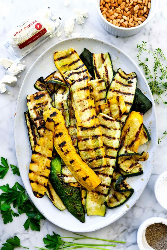 Grilled Zucchini foodiecrush.com