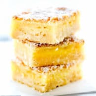 Lemon Bars | foodiecrush.com
