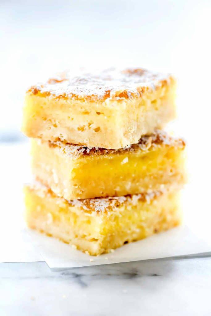 Lemon Bars | foodiecrush.com