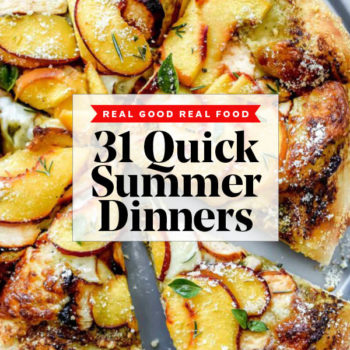 31 Quick Summer Dinner Ideas foodiecrush.com #dinner #recipes #healthy #summer