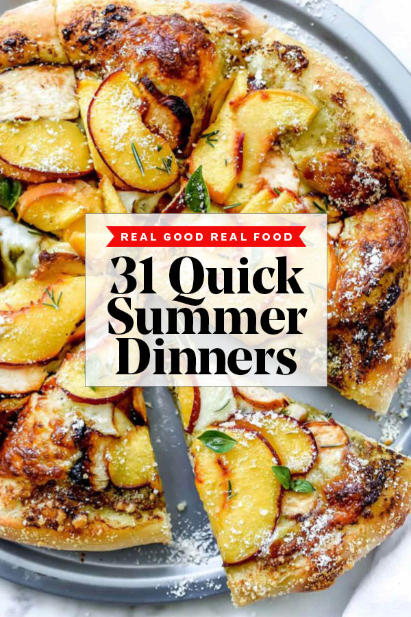 31 Quick Summer Dinner Ideas foodiecrush.com #dinner #recipes #healthy #summer