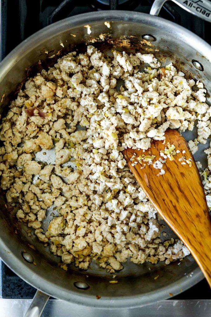Poulet haché |  foodiecrush.com