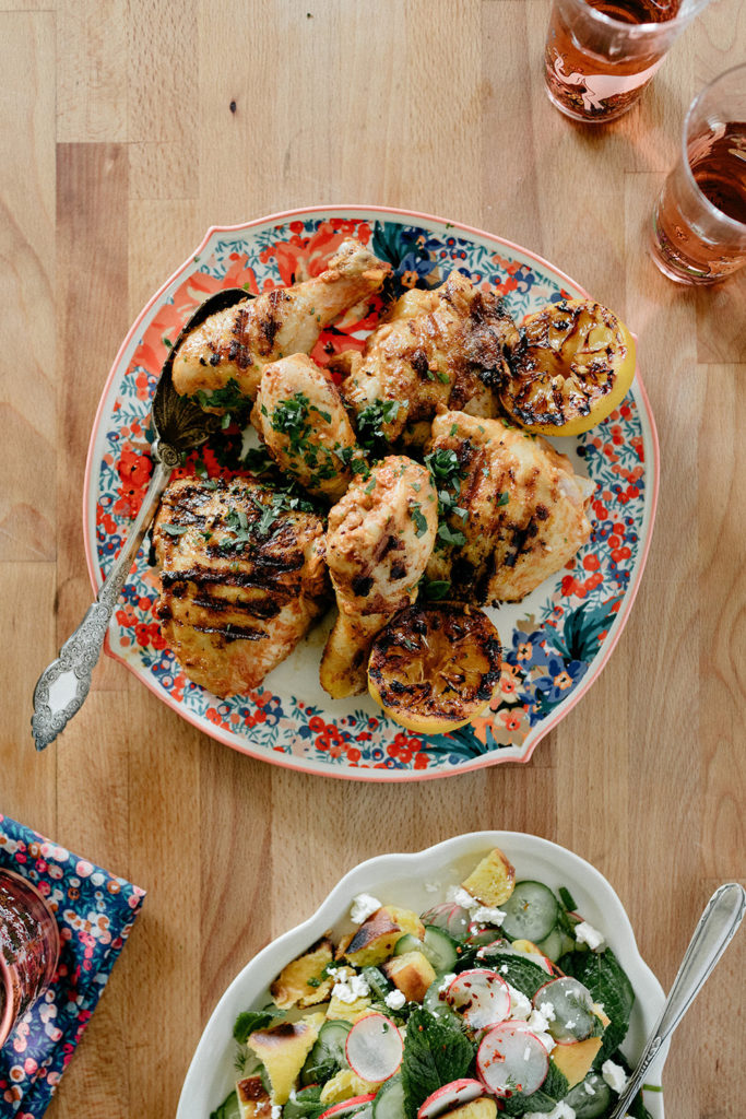 Grilled Tahini Chicken from My Name Is Yeh on foodiecrush.com