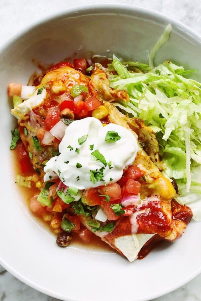 Enchiladas foodiecrush.com