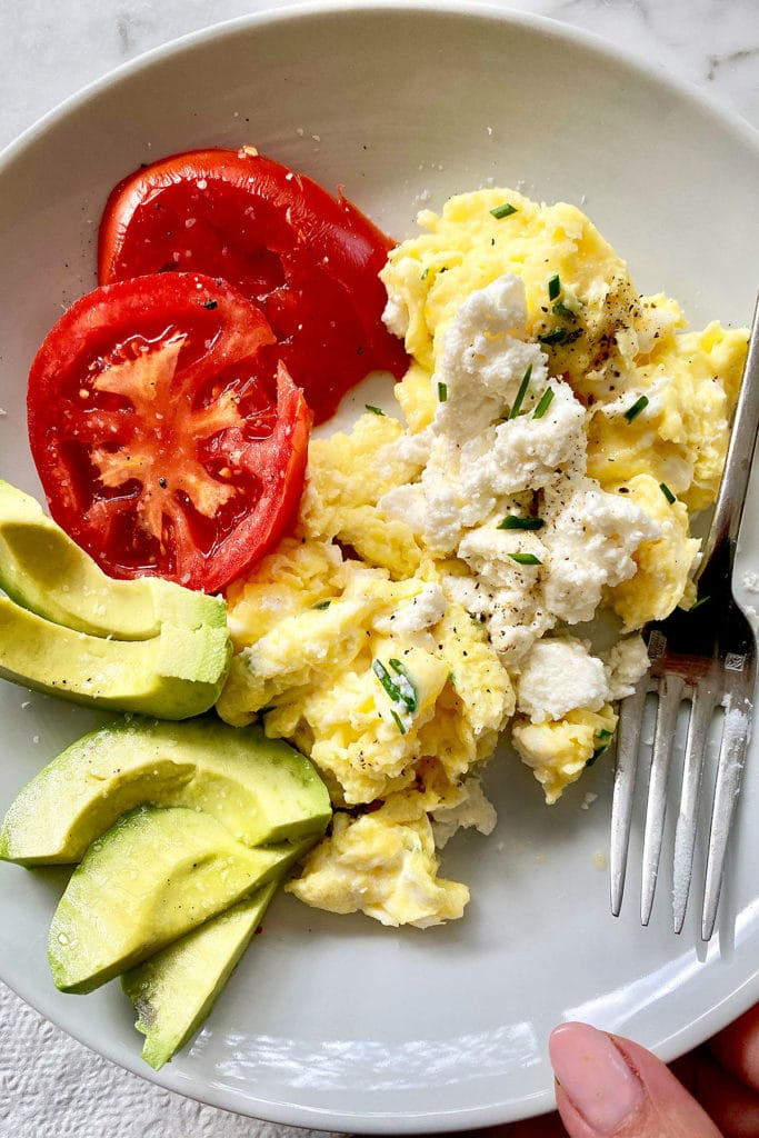 Scrambled Eggs foodiecrush.com