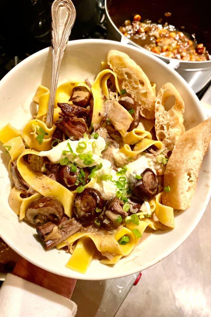 Beef Stroganoff foodiecrush.com