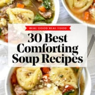 30 Best Comforting Soup Recipes foodiecrush.com