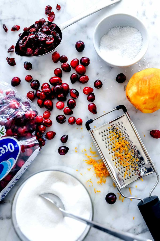 Cranberry Sauce ingredients | foodiecrush.com