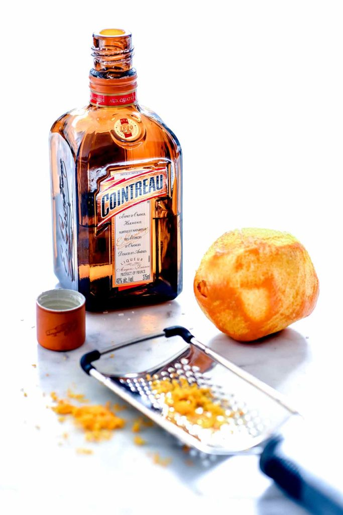 Cointreau and orange foodiecrush.com