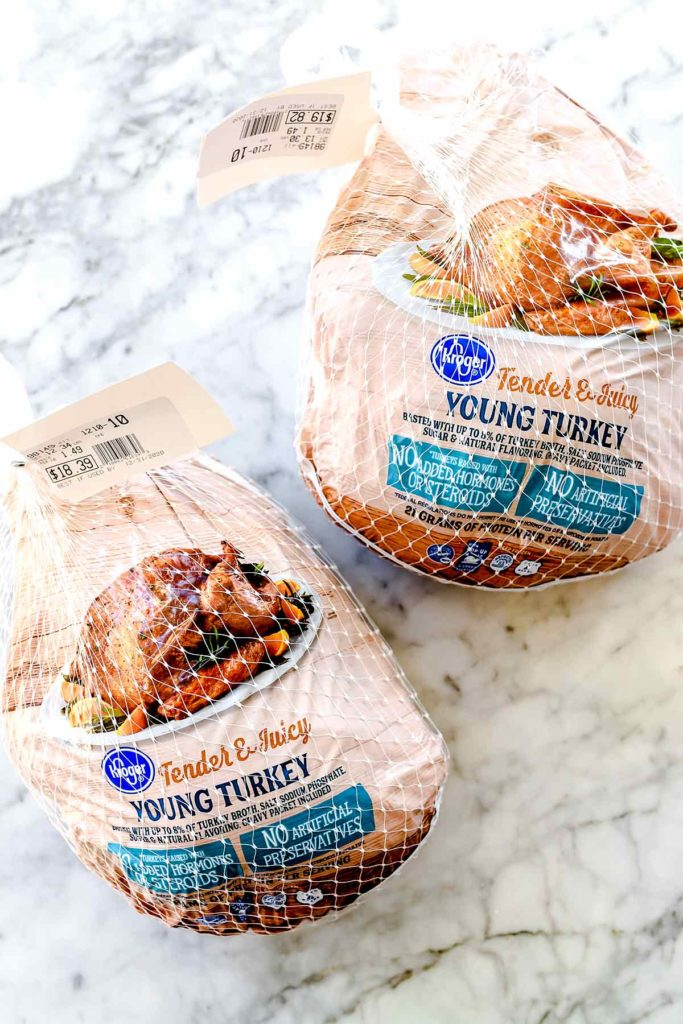 Two frozen turkeys foodiecrush.com