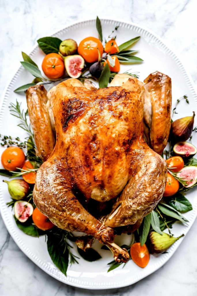 How To Cook The Best Roast Turkey Recipe Foodiecrush Com