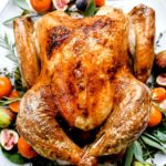 How to Cook the Best Juicy Turkey | foodiecrush.com #turkey #recipes #thanksgiving