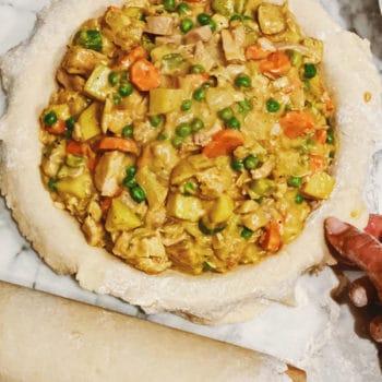 Turkey Pot Pie foodiecrush.com