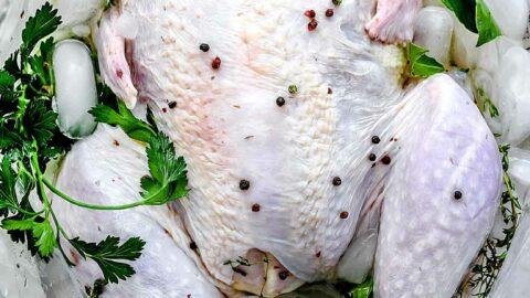 The Best Easy Turkey Brine Recipe | foodiecrush.com