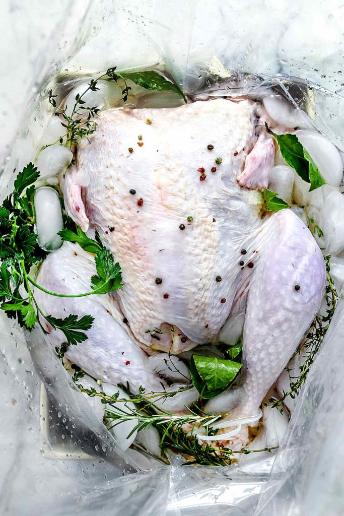 The Best Easy Turkey Brine Recipe | foodiecrush.com