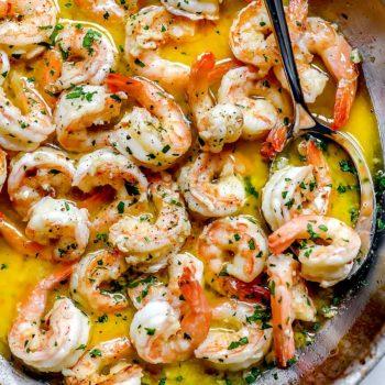 How to Make the Best Easy Shrimp Scampi | foodiecrush.com #shrimp #scampi #recipe #healthy