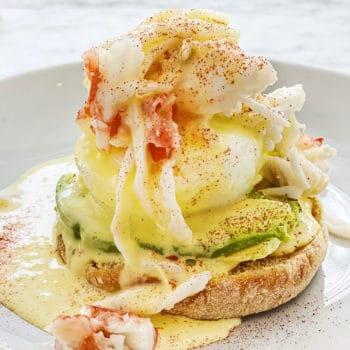 Crab Benedict foodiecrush.com