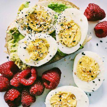Eggs and Avocado Toast foodiecrush.com