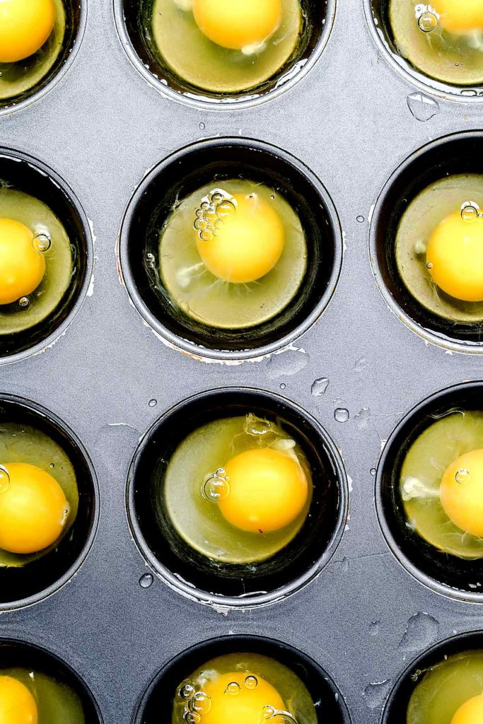 Poached Eggs in the Oven | foodiecrush.com #eggs #poached #oven #recipes