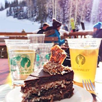 German Chocolate Cake Deer Valley Resort foodiecrush.com