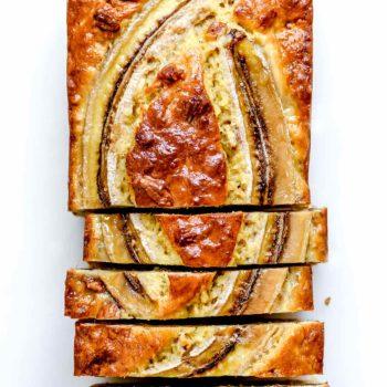 Classic Banana Bread Recipe | foodiecrush.com #banana #bread #quickbread #classic #easy