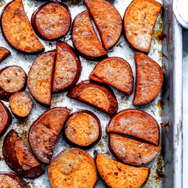 How to Make Maple Roasted Sweet Potatoes #healthy #oven #roasted #sweet #potatoes #easy #recipe