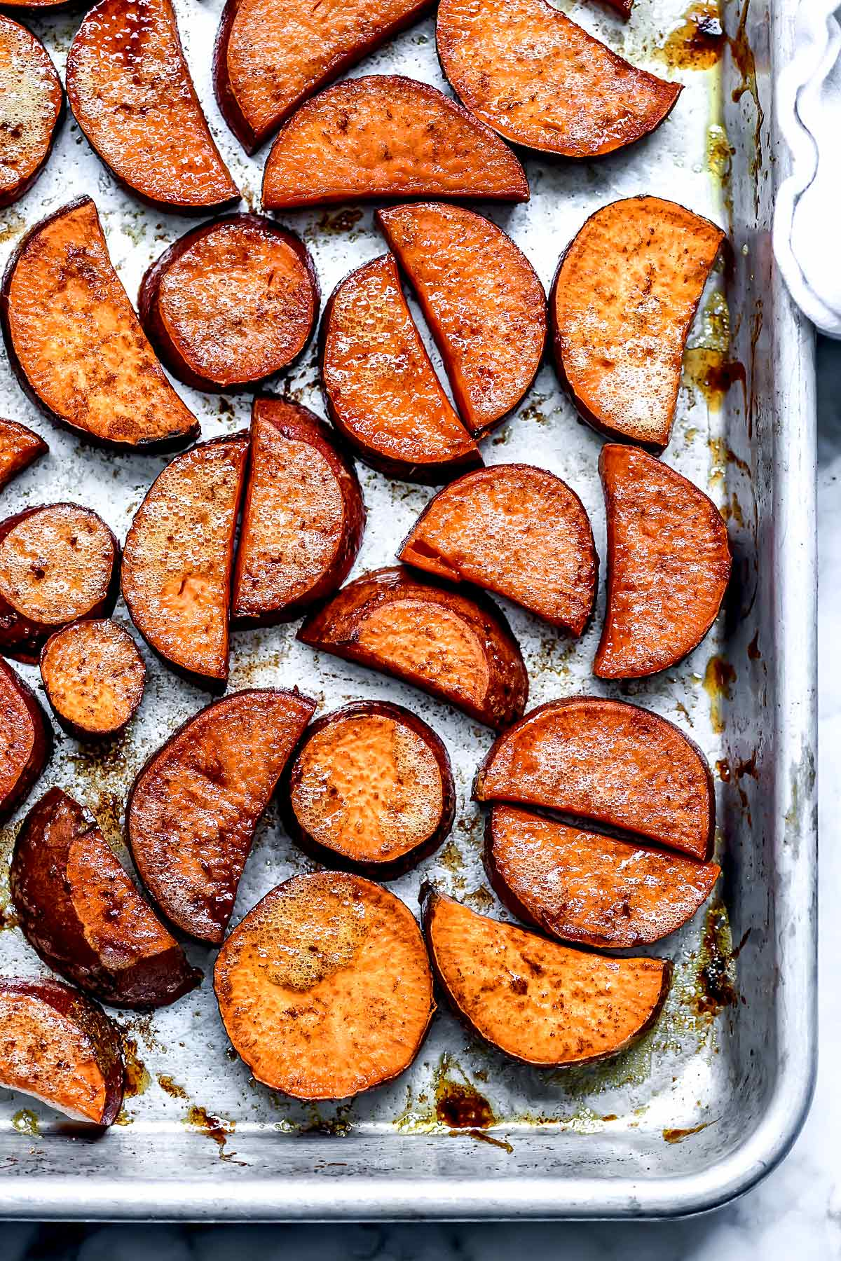 How To Make Yummy Roasted Sweet Potatoes Foodiecrush Com