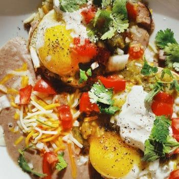 Mexican Breakfast Tostada | foodiecrush.com