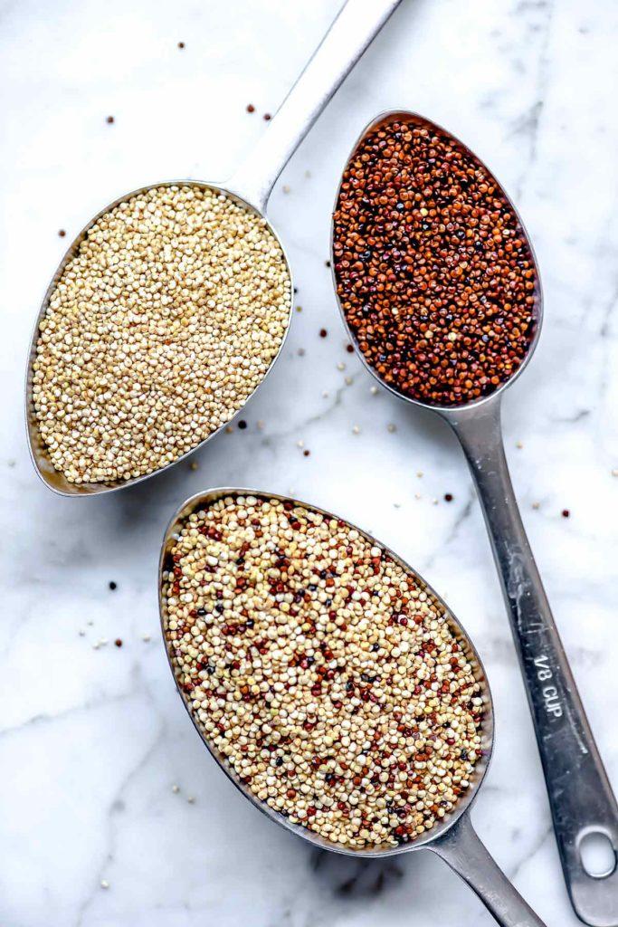 Types of Quinoa foodiecrush.com