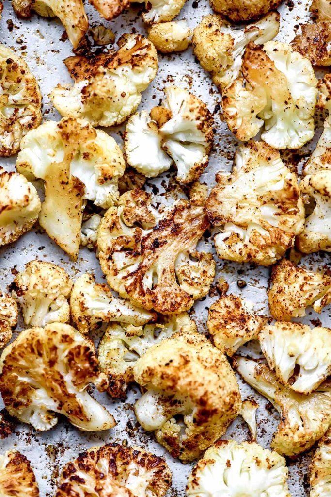 Roasted Cauliflower   foodiecrush.com