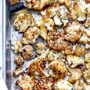 Roasted Cauliflower | foodiecrush.com