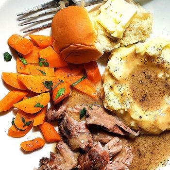 Milk Braised Pork Roast | foodiecrush.com