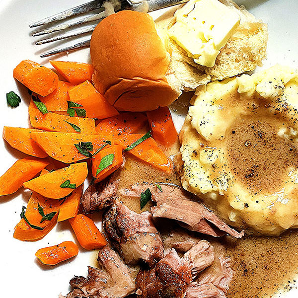 Milk Braised Pork Roast | foodiecrush.com