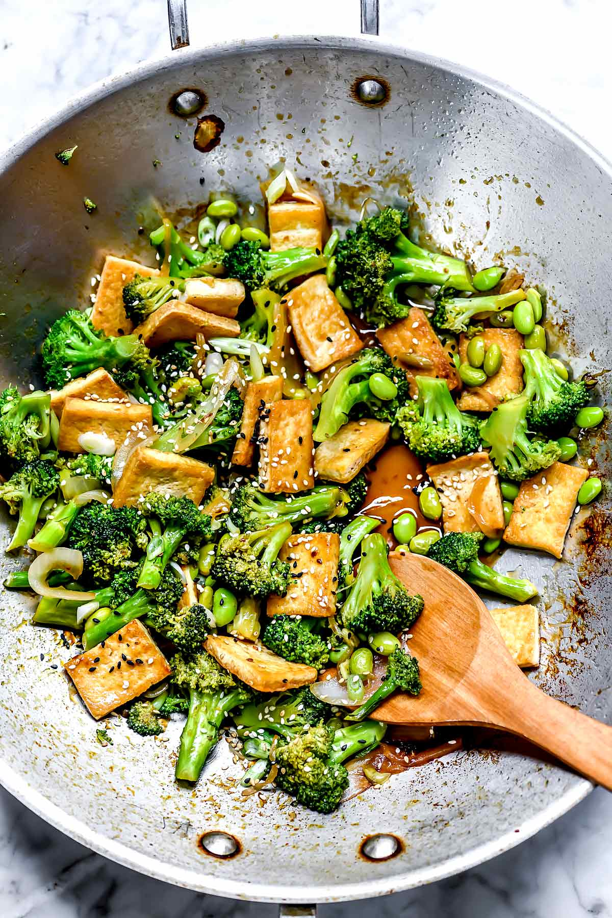 Teriyaki Tofu And Broccoli Stir Fry Foodiecrush Com