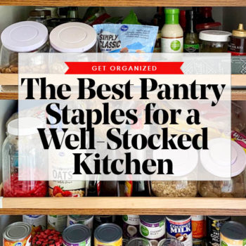 The Best Pantry Staples for a Well-Stocked Kitchen | foodiecrush.com