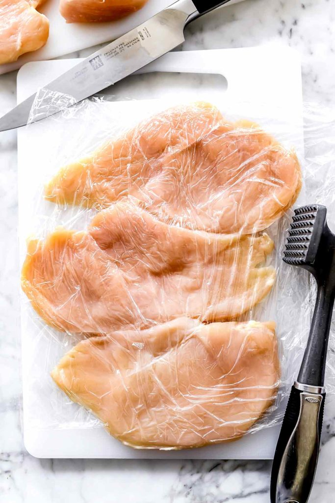 Chicken breasts meat tenderizer | foodiecrush.com
