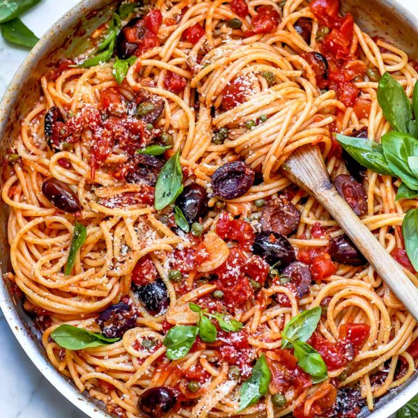Pasta Puttanesca | foodiecrush.com