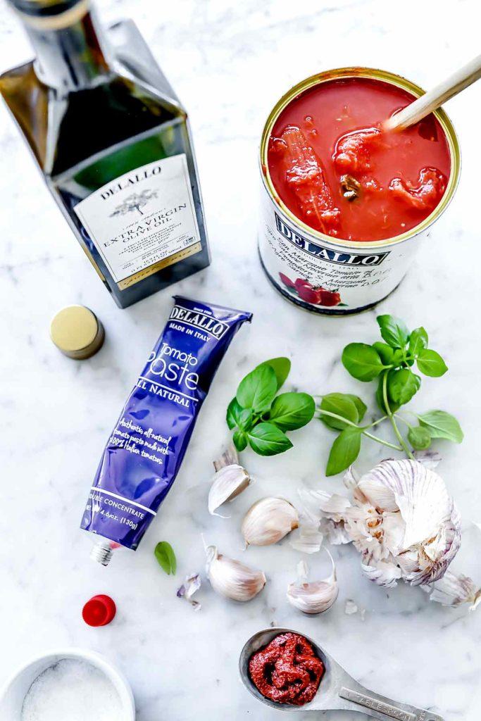 Ingredients Best Marinara Sauce | foodiecrush.com