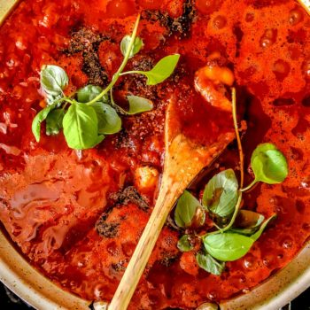 The Best Marinara Sauce | foodiecrush.com