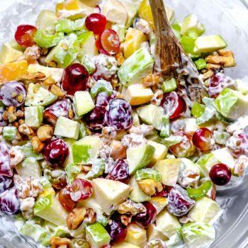 Waldorf Salad | foodiecrush.com
