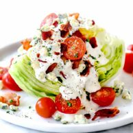 Classic Wedge Salad | foodiecrush.com