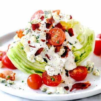 Classic Wedge Salad | foodiecrush.com