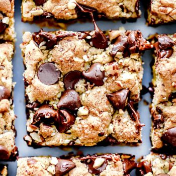 Chocolate Chip Cookie Bar | foodiecrush.com