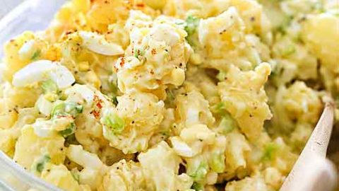 How to Make the BEST Potato Salad | foodiecrush.com