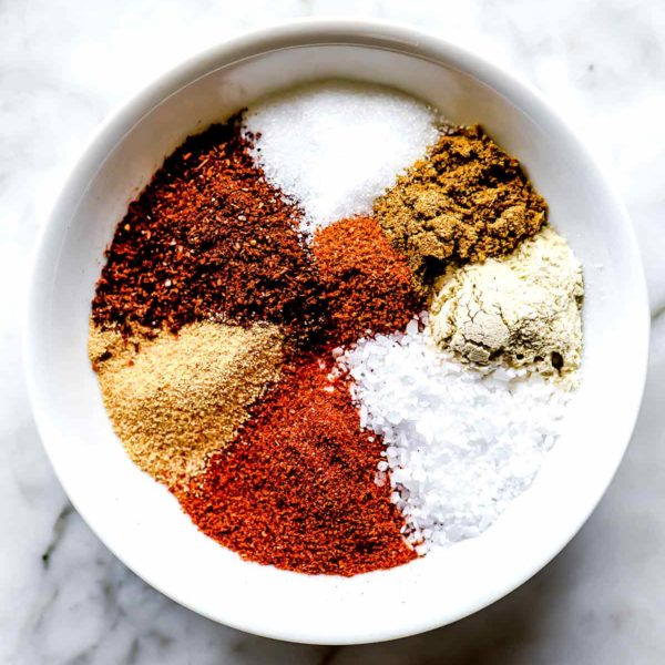 Fajita Seasoning Ingredients foodiecrush.com