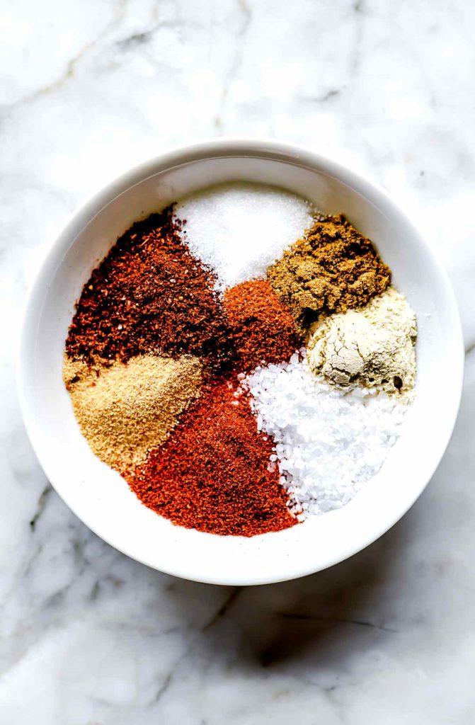 Fajita Seasoning Ingredients foodiecrush.com