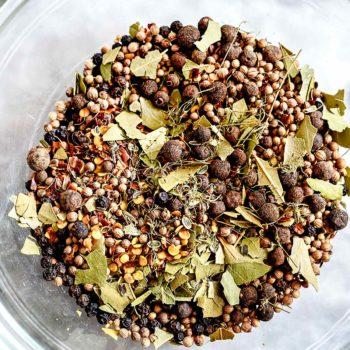 Homemade Pickling Spice | foodiecrush.com