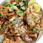 Grilled Cilantro Lime Chicken | foodiecrush.com