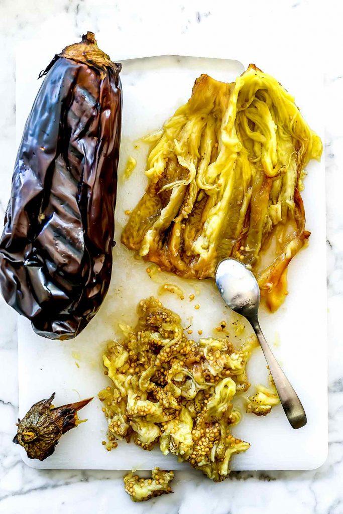 Roasted Eggplant foodiecrush.com